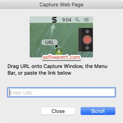capture web page using snagit on mac