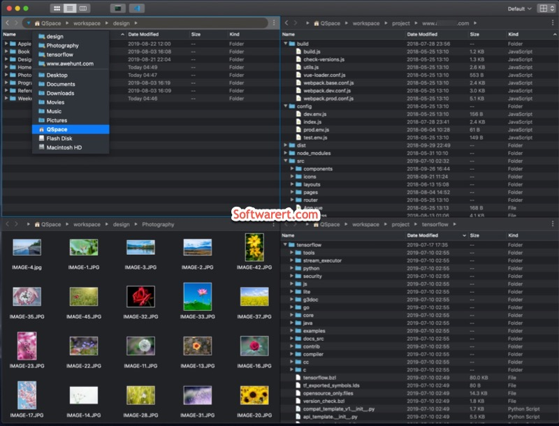 QSpace for Mac - Multi-view File Manager for Mac