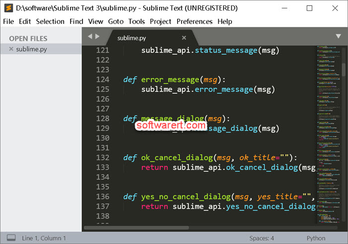 sublime text editor for windows