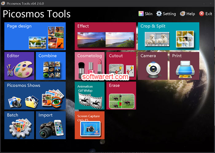 Picosmos Tools for Windows