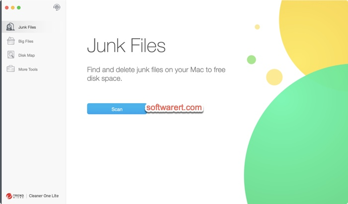 Cleaner One (Lite) for Mac - scan and delete junk files on Mac for free