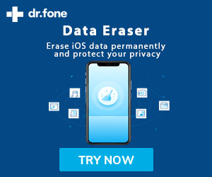 dr.fone data eraser for ios