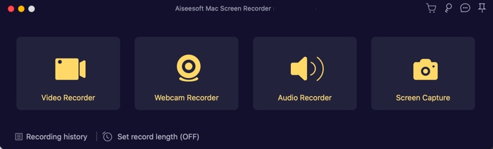 aisee screen recorder for Mac home