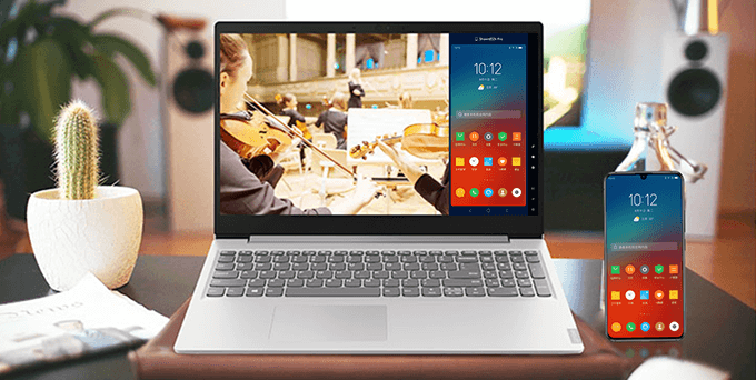 lenovo one connect windows desktop laptop and android mobile phone