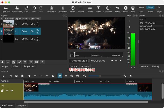 Shotcut Video Editor for Mac