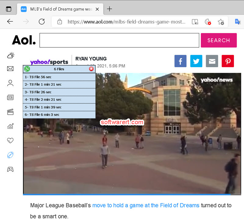 neat download manager to download videos from web through Edge browser on PC