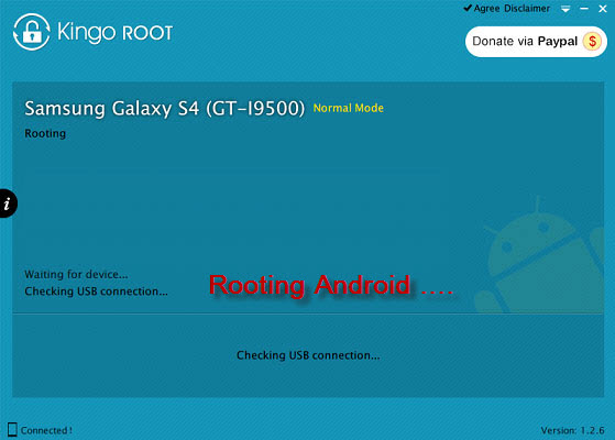 android rooting in process