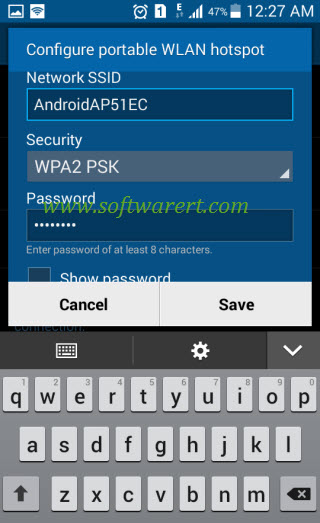 configure portable wifi hotspot on samsung galaxy grand prime