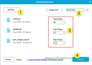 How to convert PDF to Excel?