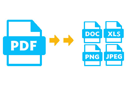 convert pdf to word excel or images