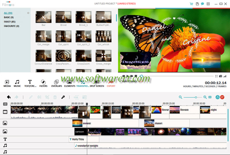create photo video slideshow movies in filmora