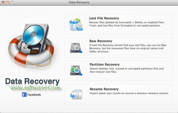 data recovery software screenshot 01