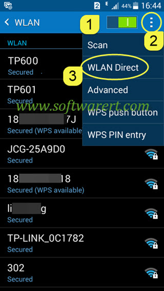 How to use Wi-Fi Direct on Samsung Android phones?