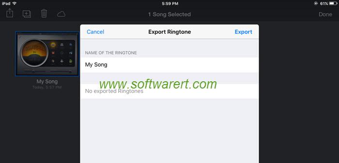 Create Ringtones Using Garageband On Ipad