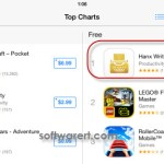 hanx writer rated no1 on app store