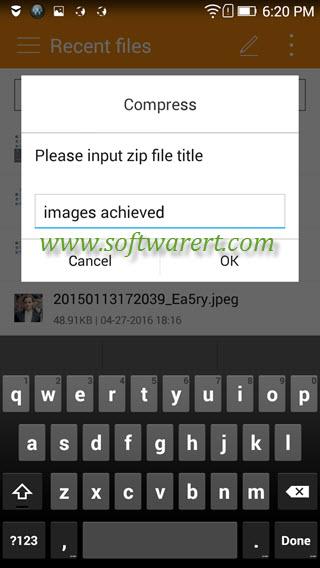 How to Zip and Unzip files on Lenovo phones?