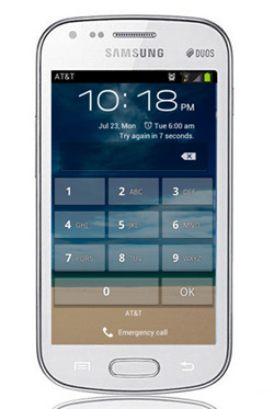 samsung mobile phone locked with passcode