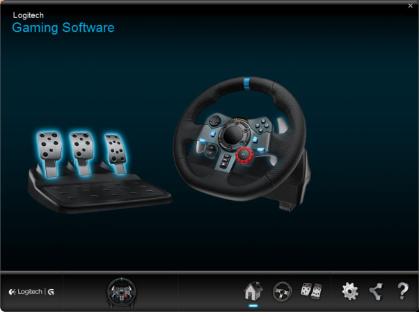 logitech gaming software for g29 racing wheel