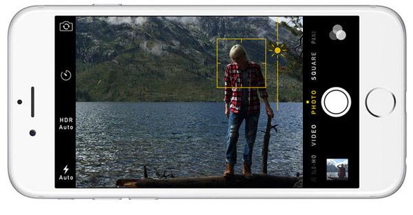 adjust exposure on iPhone iPad