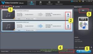 Trim and merge Lenovo phone sound recordings