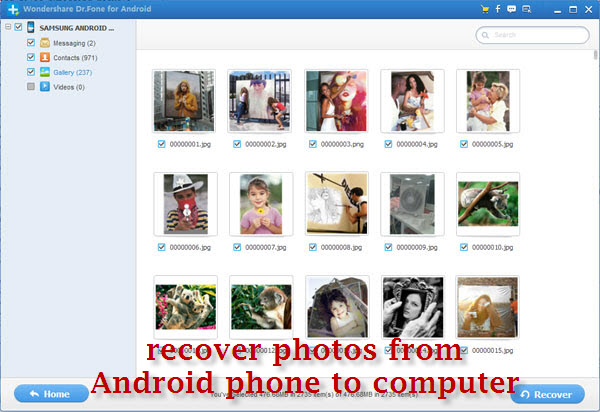 recover photos & videos from Lenovo phones to computer