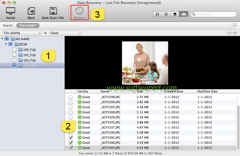 recover photos from sd card to mac using data recovery