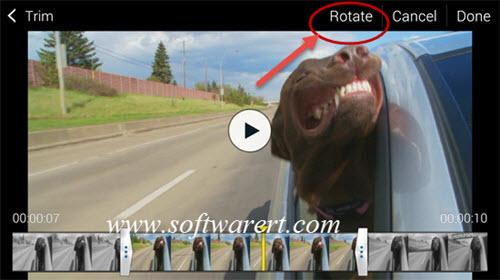 Rotate videos on samsung galaxy s5 rotate video on samsung galaxy s5 ccuart Choice Image