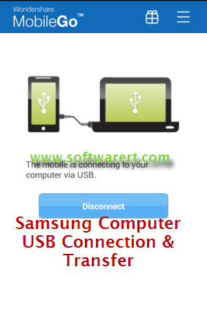samsung and computer usb connection and transfer