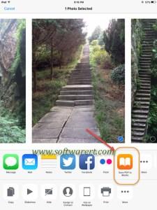 Convert photos to PDF on iPhone iPad