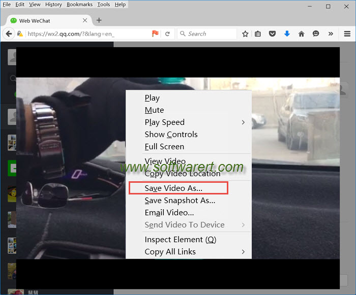 save wechat videos to computer from web