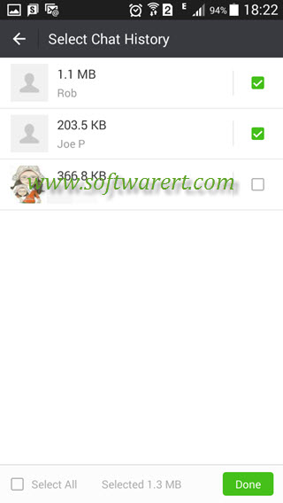 Transfer WeChat chat history to new phone