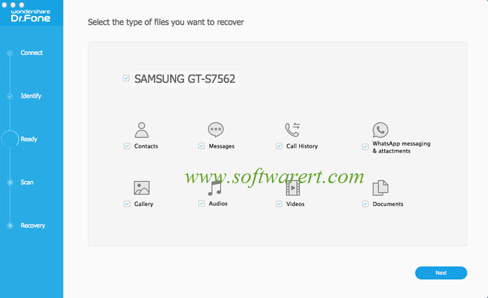 Recover Deleted SMS from Samsung Galaxy Mobile on Mac?