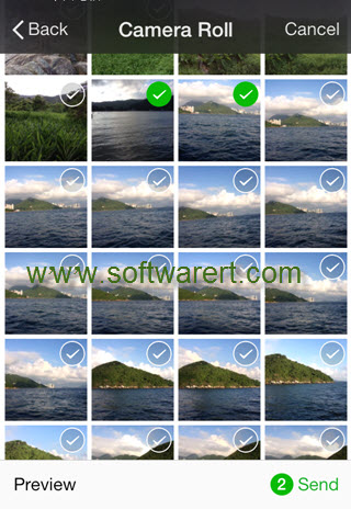 Send Photos Videos in Original Size through WeChat without