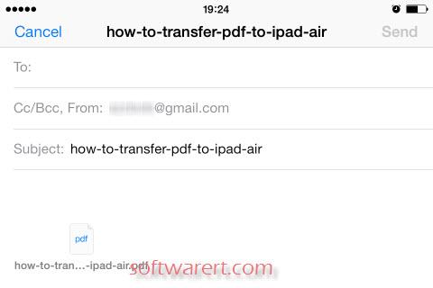 Email PDF Files on iPad iPhone