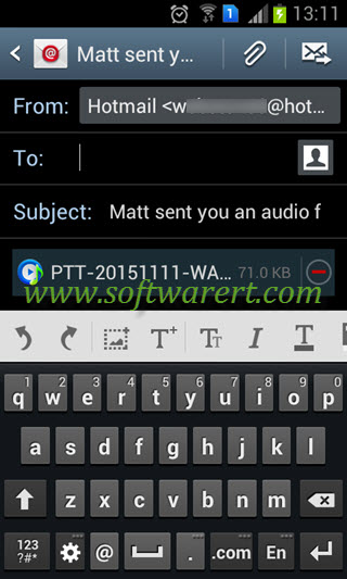 Save WhatsApp audio, music, voice messages and recordings on Android