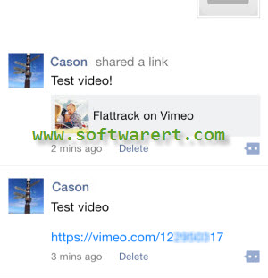 share links in wechat moments
