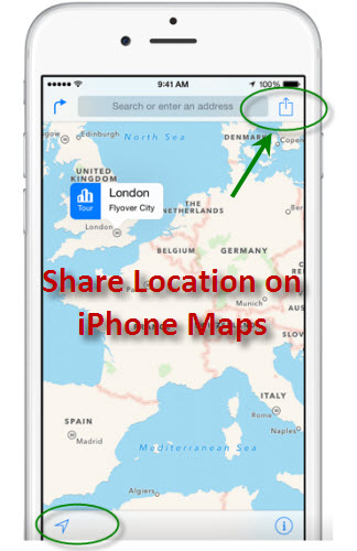iphone share location how to your location using iphone 12308