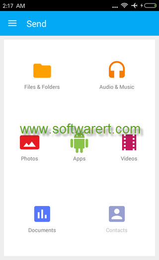 superbeam file transfer for android phone