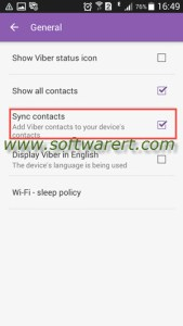 How to sync Viber contacts to Android phone?