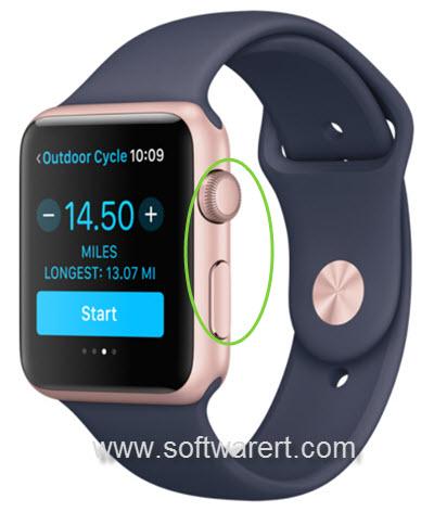 take screenshots on apple watch
