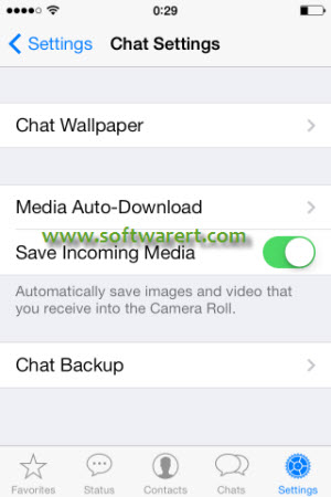 Enable & Disable WhatsApp Media Auto-download on iPhone