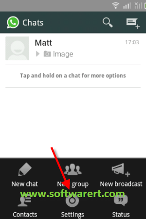 Whatsapp Settings On Android