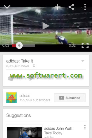 watch youtube videos in youtube app on iphone
