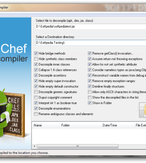 AndroChef Java Decompiler 1 0 0 8 Trial   Software Sales From Us