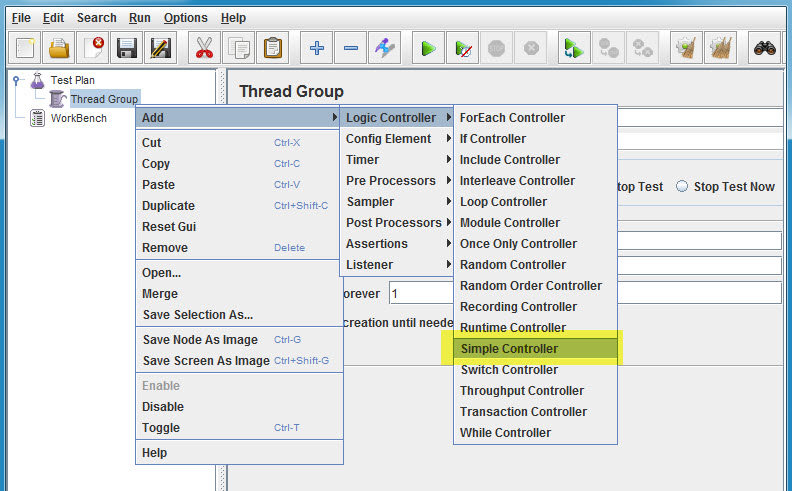 Recording Traffic using Apache JMeter HTTP Proxy Server (3/6)