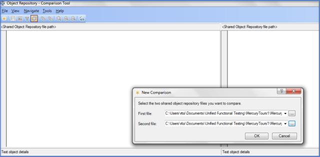 UFT Object Repository Comparison Tool l2