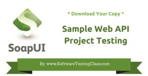 Download Sample Web API SoapUI Project