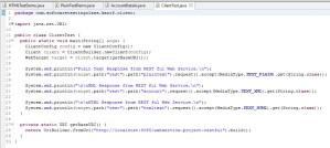 REST Project Client Test