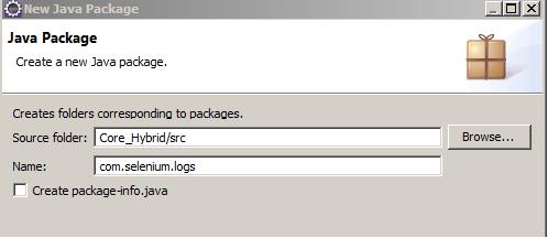 Core Hybrid Log Package