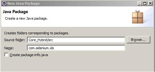 Core Hybrid xls Package
